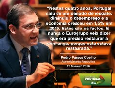 Pedro Passos Coelho, Presidente do PSD, durante o debate quinzenal #PSD #acimadetudoportugal