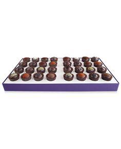 Vosges Dark Chocolate Truffle Collection, 32 pieces