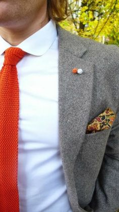 orange tie #elegancebar