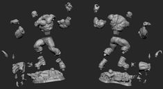 Cuts and key Process in zbrush by Martin Canale In this post you will see the Cuts and Key Process b