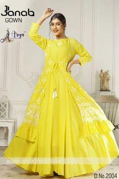aryadress,maharani gown,designfull gown,fancy woman gown | Arya Dress Maker Latest Gown Styles, Western Kurtis, Digital Print, Dressmaking, Retail, Saree, Fancy, Gowns, Marketing