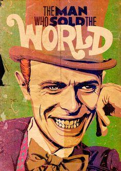 David Bowie VS. Pop Culture by Butcher Billy | GRAVERAVENS