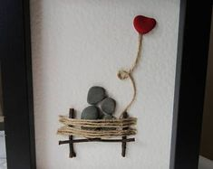 Art / Art of Love / Gift of Natural Stone Gift / Art Standing . , Pebble Art / Art of Love / Gift of Natural Stone Gift / Art Standing . , Pebble Art / Art of Love / Gift of Natural Stone Gift / Art Standing . Stone Pictures Pebble Art, Stone Art, Pebble Stone, Sea Glass Crafts, Sea Glass Art, Stone Crafts, Rock Crafts, Art Crafts, Nature Crafts
