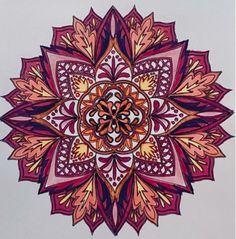 Mandalas Volume 1 Colorist: Cathie Stryker Lucas #adultcoloring #coloringforadults #adultcoloringpages #mandala