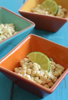 Warm Mexican Corn Salad - inspired by a popular Mexican street food called elite. #weightwatchers #cincodemayo