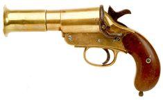 WW 1 Webley & Scott flare pistol.
