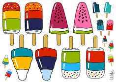 Lilalottiges Eis am Stil bei www.Stoff-Schmie.de - hier machst Du Deinen Stoff selbst!