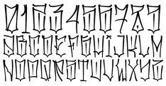 """Inspired by the """"Chicano"""" lettering - .- Inspiriert von den """"Chicano"""" -Schriftzügen – Inspired by the """"Chicano"""" lettering – - Chicano Tattoos Lettering, Tattoo Lettering Styles, Graffiti Tattoo, Graffiti Drawing, Tattoo Script, Calligraphy Tattoo Fonts, Graffiti Designs, Graffiti Alphabet Styles, Graffiti Lettering Alphabet"""