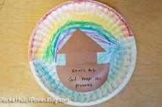 Preschool Take Home Activity:  Sunday School Crafts: Noah's Ark