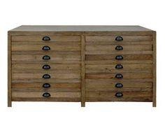 Teva Living's Aleria Mid Sideboard Salvaged Wood = $795   same as anthropologie!