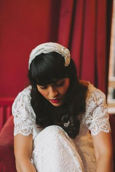 Vintage Bridal Hair and Make Up Styling by Amanda Moorhouse of Lipstick and Curls