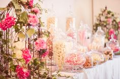 Wedding Candy Bar ~ lush, summer wedding at Milton Park in Australia, with photos by Marcus Bell of Studio Impressions | junebugweddings.com