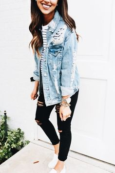 Trendy Fall Outfits For School You Need To Wear Now 20 - Trendy Outfits Fall Outfits For School, Trendy Fall Outfits, Everyday Outfits, Spring Outfits, Mode Outfits, Fashion Outfits, Womens Fashion, Denim Outfits, Fashion Trends
