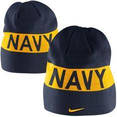 Nike Navy Midshipmen 2013 Rivalry Beanie - Navy Blue 7f853d923619