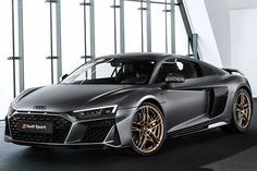Audi& New Limited Decennium Respects Engine Audi has announced the new limited Decennium edition of the to celebrate the anniversary of the engine, which powers its super car. Audi Tt, New Audi R8, Audi R8 V10 Plus, Audi Sports Car, Audi Cars, Sport Cars, Audi Sportwagen, Tt Tuning, Exotic Sports Cars
