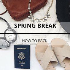 Mystery Girl: Packing For Spring Break