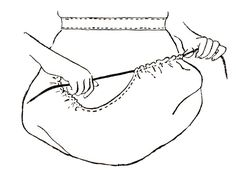 An easy to sew baske