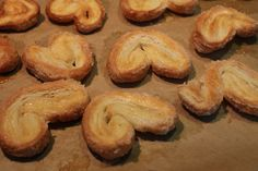 Homemade Palmiers, made with Rough Puff Pastry
