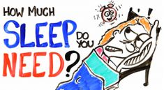 """Are you chronically sleep deprived? A study shows that with too little sleep you are working as if your are """"legally drunk"""". Click to see short animated video about """"How Much Sleep Do You Need?"""""""