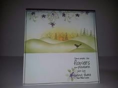 Beautiful card from cardio  stamps
