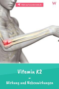 Vitamin K2 ist kein klassisches Vitamin im eigentlichen Sinn. Wofür es gut ist und welche Nebenwirkungen es hat, erfährst du hier. #vitamink2 #vitamine #blutgerinnung #knochen #gesundeernährung Vitamin A, Microorganisms, Healthy Nutrition, Vitamin Deficiency, Healthy Recipes