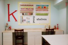 nannygoat: Details on My Craft Room including a tutorial on this pegboard