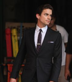 Matt Bomer, being Christian Grey