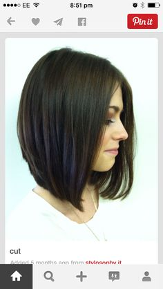 Makes me want to grow my hair out a bit! Still short but so girly I love it!