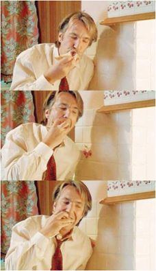 Alan Rickman - I don't know what this is from . Alan Rickman Always, Miss U So Much, Alan Rickman Severus Snape, Harry Potter Cast, My Heart Hurts, Piece Of Music, Close My Eyes, Rich Man, Robin Williams