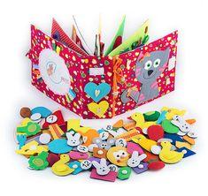 Calme MiniMom jouets 12 pages 1 à 4 ans convivial par MiniMoms