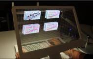 Microsoft TechFest 2012 : Microsoft expérimente les écrans interactifs de demain, 3D, tactiles, transparents