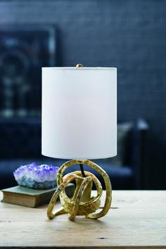 Regina-Andrew Design Gold Mini Knot Lamp IH006 - IHFC, Commerce, Floor 1 #reginaandrew2 #designonhpmkt