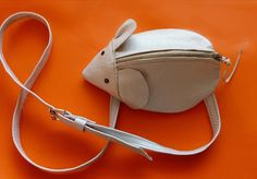 How to sew a handbag-mouse for a young fashionista