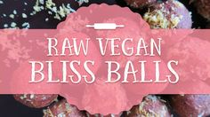 These Gingerbread bliss balls are nut-free, which makes them low in fat and allergic friendly! Bliss Balls, Vegan Christmas, Nut Free, Raw Vegan, Gingerbread, Vegan Recipes, Fat, How To Make, Ginger Beard