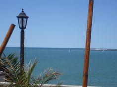 Mar del Plata desde el mar.