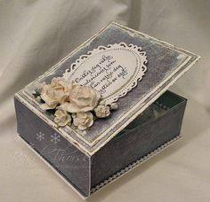 Paper Gifts, Paper Crafting, Photo Book, Diy And Crafts, Decorative Boxes, Card Making, Scrapbooking, Gift Wrapping, Retro