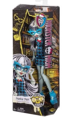 Monster High Geek Shriek Frankie Stein  NEW In Hand Just Released