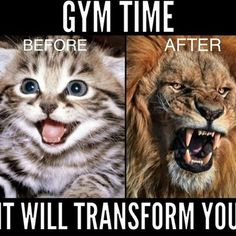 This is totally me at the gym!