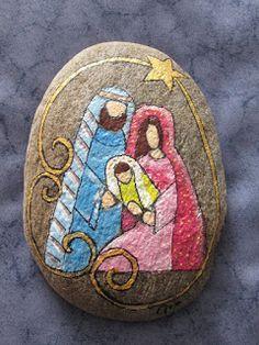 120 Painted Rocks Nativity Sets Ideas Painted Rocks Nativity Nativity Set