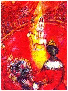 Marc Chagall, 1970, The Circus,   https://www.artexperiencenyc.com/social_login/?utm_source=pinterest_medium=pins_content=pinterest_pins_campaign=pinterest_initial