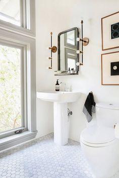 bathroom sconces that don't suck on apartment 34
