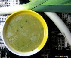 Recette de soupe aux poireaux et à la ciboulette