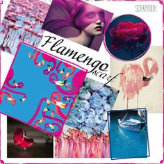 The flamingo theme always epitomized elegance and tenderness, Spanish flamenco rhythms reveal the hidden passion. Intense and expressive combination of blue and pink is meant for extravagant and daring women, so is IRIDA Flamengo scarf!