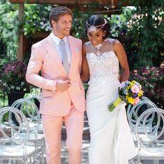 Beautiful interracial couple wedding photography #love #wmbw #bwwm
