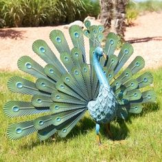 This decorative figurine find a place in your garden.