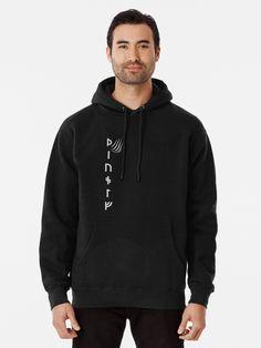 🖤 hoodie season! Keep warm in a viking style hoodie. (The wolf- written in futhark) #hjorleifsonart #wolf #futhark #vikings #vikingsymbols #vikingstyle #icelandic #artist #norse #runes