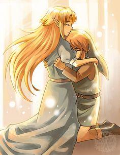 remember your true form by aquanut on deviantART   The Legend of Zelda: A Link to the Past, Link and Princess Zelda