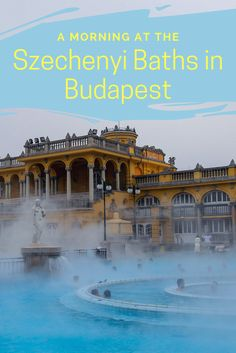 The Szechenyi baths are a must-do on your visit to Budapest. See why relaxing in these baths was a once-in-a-lifetime experience.