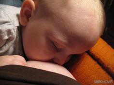 Breastfeeding photos: Moms with their babies