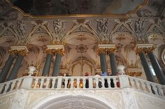 Scenes from The Hermitage Museum, St. Petersburg ~
